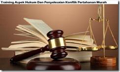 training aspek hukum konflik murah