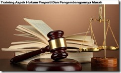 training aspects of property law and its development murah