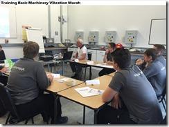training machinery vibration murah
