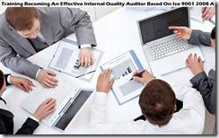 training menjadi auditor kualitas internal yang efektif berdasarkan auditor iso 9001 2008 murah