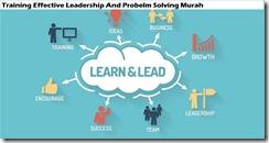 training pemimpinan yang efektif dan pemecahan masalah murah