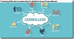 training kepemimpinan untuk membangun tim hebat murah