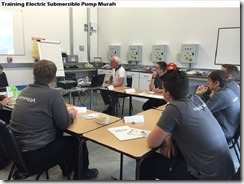 training principle electric submersible pump murah