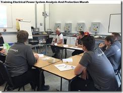 training electrical power system murah