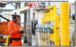 training eksplosif penanganan material untuk industri pertambangan migas murah