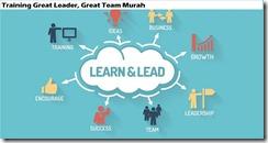 training pengenalan great leader, great team murah