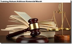 training commercial arbitration law murah
