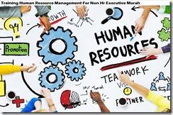 training manajemen sumber daya manusia untuk non hr eksekutif murah