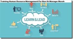 training manajemen sumber daya manusia untuk manajer non sdm murah