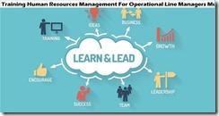 training manajemen sumber daya manusia untuk manajer lini operasional murah