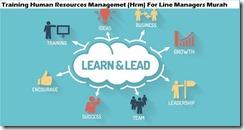 training manajemen sumber daya manusia (hrm) untuk manajer lini murah