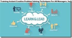 training teknik pemecahan masalah kreatif instan untuk semua manajer, supervisor, staf penjualan dan front line murah