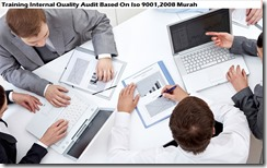 training audit kualitas internal berdasarkan iso 9001,2008 murah