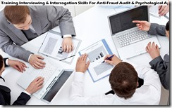 training interview & interogation skills untuk anti-fraud audit & psychological approach murah