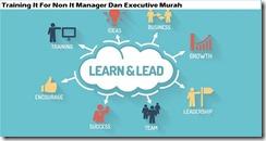 training ti untuk non it manager dan eksekutif murah