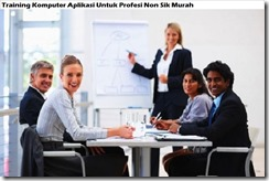 training computer applications for non sik professions murah