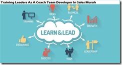 training pemimpin sebagai pelatih tim pengembang dalam penjualan murah