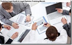 training audit hukum & pelatihan pendapat hukum murah