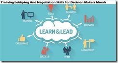 training keterampilan lobi dan negosiasi untuk pengambil keputusan murah