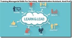 training pengenalan managerial skill for sekretary murah