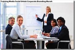 training social media for corporate branding murah
