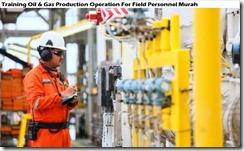 training operasi produksi minyak & gas untuk field personnel murah