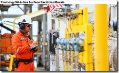 training fasilitas surface minyak dan gas murah