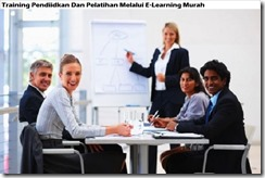 training education and training through e-learning murah