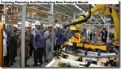 training merencanakan dan mengembangkan produk baru murah