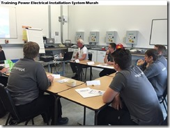 training electrical distribution systems murah