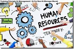 training prinsip manajemen sumber daya manusia murah