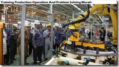 training pengoperasian produksi dan pemecahan masalah murah