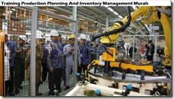 training perencanaan produksi dan manajemen inventaris murah