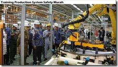 training keselamatan sistem produksi murah