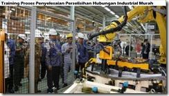 training kebijakan pemerintah yang berkaitan dengan hubungan industrial murah
