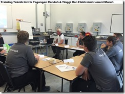 training electrical technique of low & high voltage and electro instrument murah