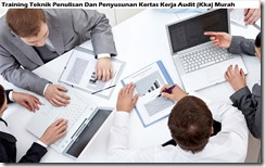 training penulisan kertas kerja audit murah