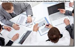 training penyusunan laporan hasil audit murah