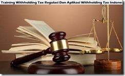 training pajak pemotongan regulasi dan aplikasi pemotongan pajak indonesia murah